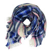 Šátek s kostkovaným potiskem joules, modrá, 929-8013 - 13
