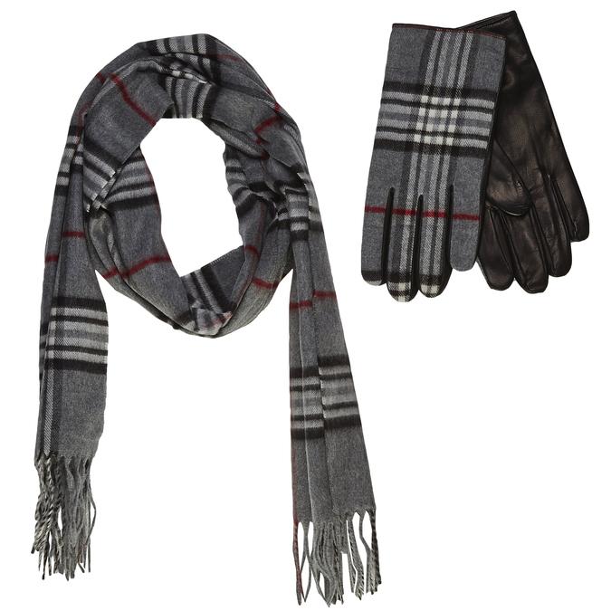 gloves and scarf set junek, šedá, 920-2005 - 13