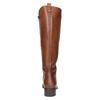 Dámské kožené kozačky bata, hnědá, 594-3586 - 17