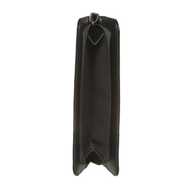 Dámská lakovaná peněženka bata, černá, 941-6144 - 17