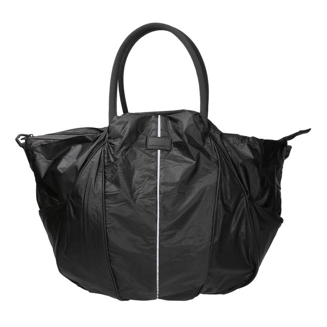 Textilní sportovní kabelka bjorn-borg, černá, 969-6031 - 26
