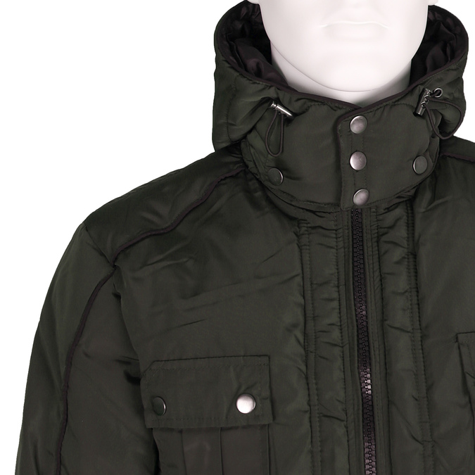 Pánská bunda bata, zelená, 979-7631 - 16