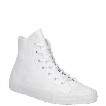 Kožené kotníčkové tenisky bílé converse, bílá, 546-1082 - 13