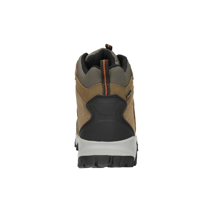 Kožená pánská Outdoor obuv weinbrenner, hnědá, 846-4601 - 17