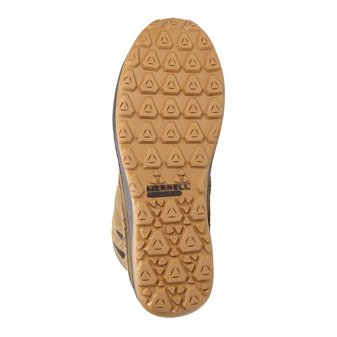 Kožená kotníčková obuv dámská merrell, hnědá, 506-3809 - 26