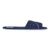 Dámská domácí obuv s mašličkou bata, modrá, 579-9609 - 15