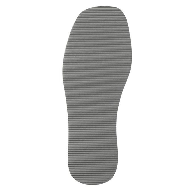 Pánská domácí obuv s plnou špicí bata, modrá, 879-9605 - 26