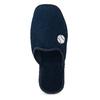 Pánská domácí obuv bata, modrá, 879-9609 - 17
