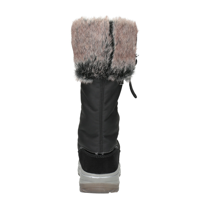 Sněhule s masivní podešví weinbrenner, černá, 591-6615 - 17