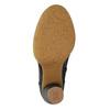 Kotníčková obuv na stabilním podpatku el-naturalista, černá, 714-6043 - 26