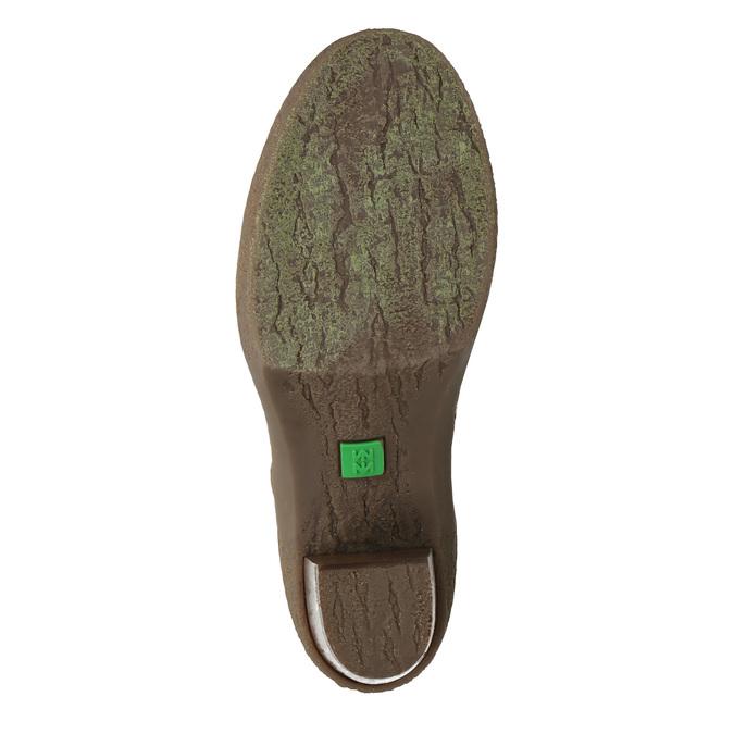 Dámská kotníčková obuv el-naturalista, hnědá, 716-4040 - 26