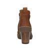 Dámská kotníčková obuv el-naturalista, hnědá, 716-4040 - 17