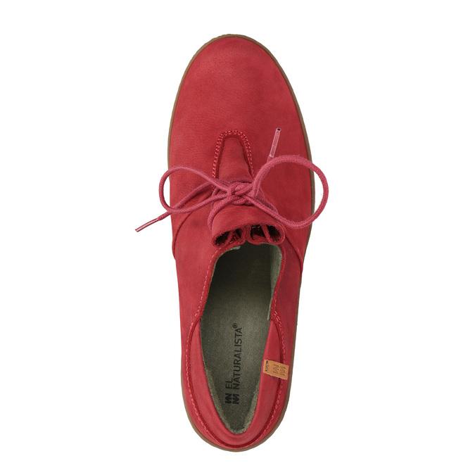 Elegantní kotníčková obuv el-naturalista, červená, 726-5045 - 19