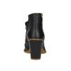 Kotníčková obuv na stabilním podpatku el-naturalista, černá, 714-6043 - 17