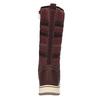 Dámské sněhule s kožíškem bata, červená, 599-5614 - 17