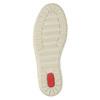 Dámské kožené tenisky bata, hnědá, 524-8349 - 26