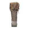 Dámské sněhule s kožíškem weinbrenner, hnědá, 591-3615 - 17