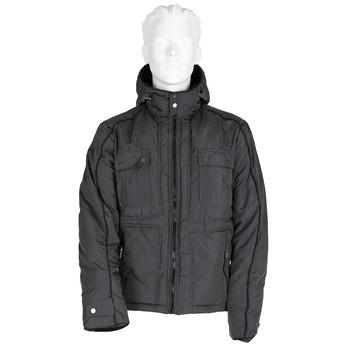 Pánská zimní bunda bata, šedá, 979-2631 - 13