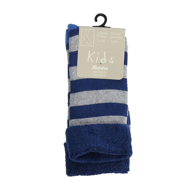 Teplé dětské ponožky bata, modrá, 919-9433 - 13