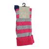 Teplé dětské ponožky bata, růžová, 919-5429 - 13