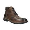 Pánská obuv s výraznou podešví bata, hnědá, 894-4651 - 13