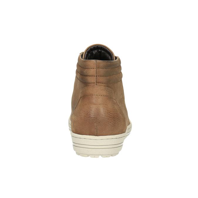 Dámské kotníčkové tenisky bata, hnědá, 594-8659 - 17