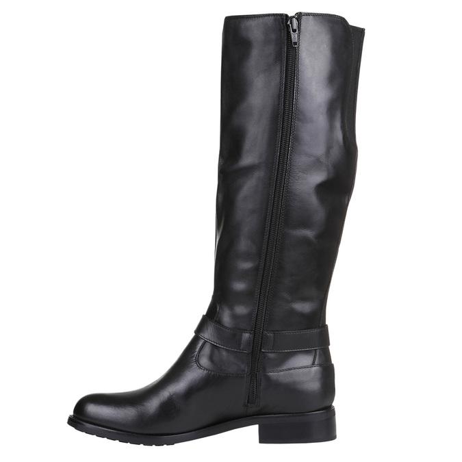 Dámské kotníčkové tenisky bata, černá, 594-6659 - 15