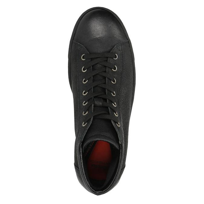 Dámské kotníčkové tenisky bata, černá, 594-6659 - 19