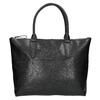 Černá kožená kabelka bata, černá, 966-6201 - 19