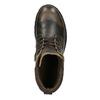 Pánská kožená kotníčková obuv weinbrenner, hnědá, 896-4110 - 19