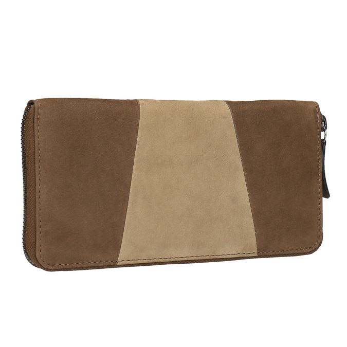 Dámská kožená peněženka bata, hnědá, 946-4100 - 13
