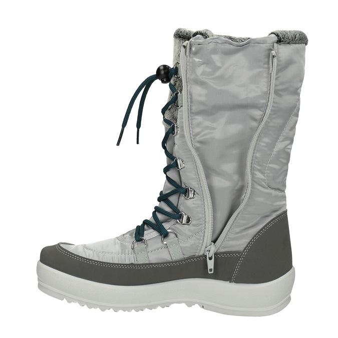 Dámské sněhule weinbrenner, šedá, 599-2612 - 19