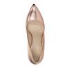 Kožené dámské lodičky bata, růžová, 726-5645 - 19