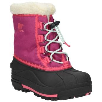 dívčí zimní obuv sorel, růžová, 299-5004 - 13