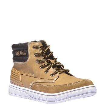Chlapecké kotníčkové boty mini-b, žlutá, 391-8194 - 13