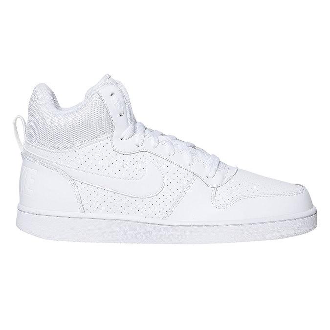 Bílé kotníčkové tenisky nike, bílá, 801-1332 - 15