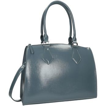 Dámská kabelka s pevnými uchy bata, modrá, 961-9740 - 13