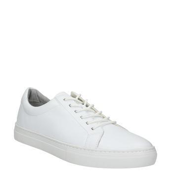 Bílé kožené tenisky vagabond, bílá, 824-1013 - 13