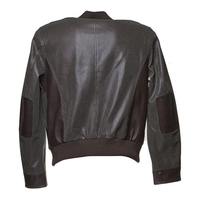 Pánská bunda s perforací bata, hnědá, 971-4173 - 26