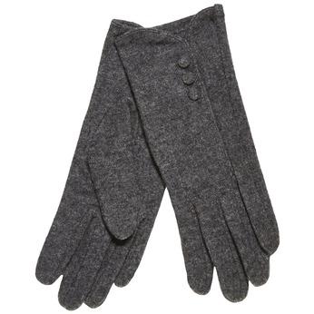 Dámské rukavice s knoflíčky bata, šedá, 909-2405 - 13