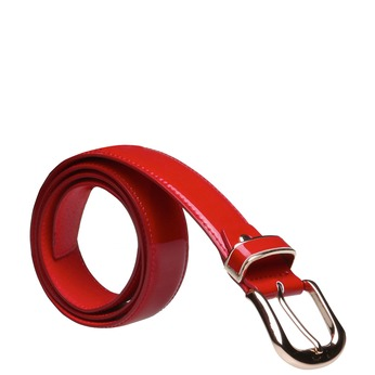 Červený opasek bata, červená, 951-5131 - 13