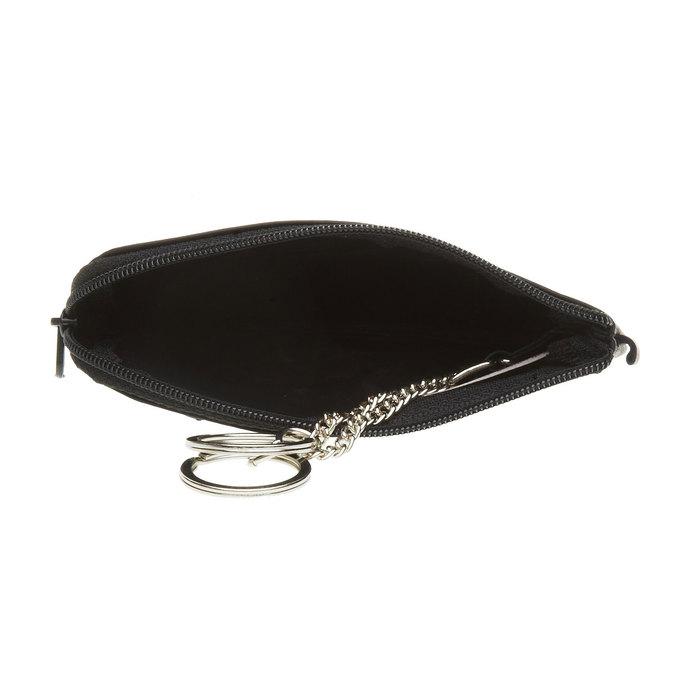 Kožená peněženka bata, černá, 944-6161 - 16
