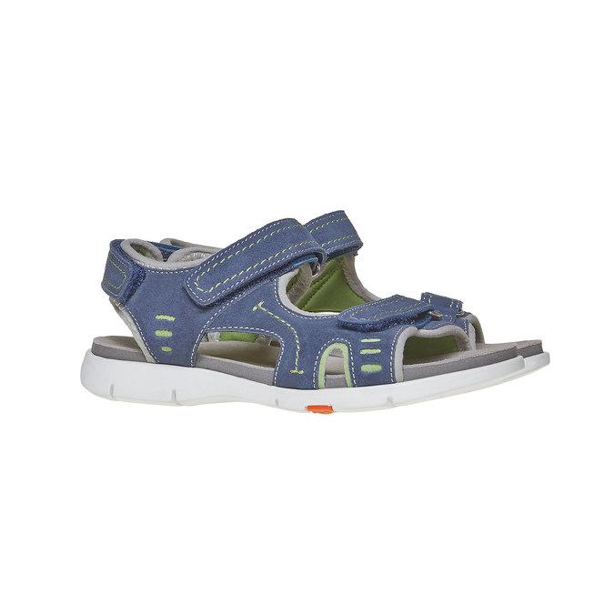 Dětské sandály flexible, modrá, 363-9188 - 26