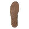 Ležérní kožené polobotky se zipem weinbrenner, hnědá, 546-8246 - 26