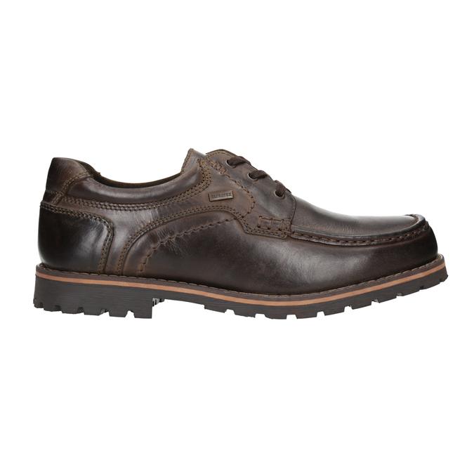 Kožené ležérní polobotky bata, hnědá, 826-4640 - 26