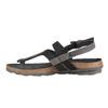 Dámské kožené sandály weinbrenner, černá, 566-6101 - 16