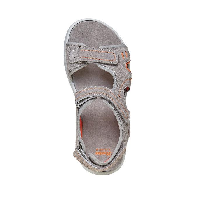 Dětské sandály flexible, šedá, 363-2188 - 19