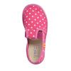 Dívčí domácí obuv s puntíky bata, růžová, 279-5103 - 19
