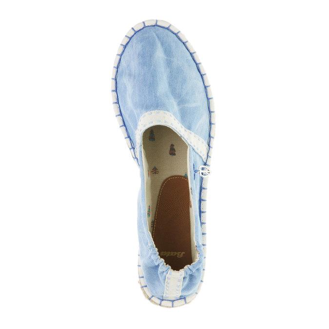 Dámská obuv typu Espadrilles bata, modrá, 2019-559-9420 - 19