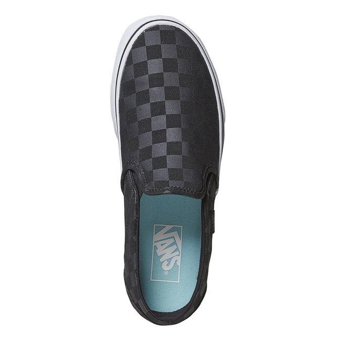 Dámská Slip-on obuv se vzorem vans, černá, 589-6288 - 19